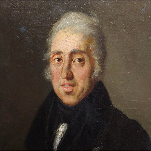Portrait of Andrew Jackson - 19th Century Oil Painting For Sale - Image 4 of 8