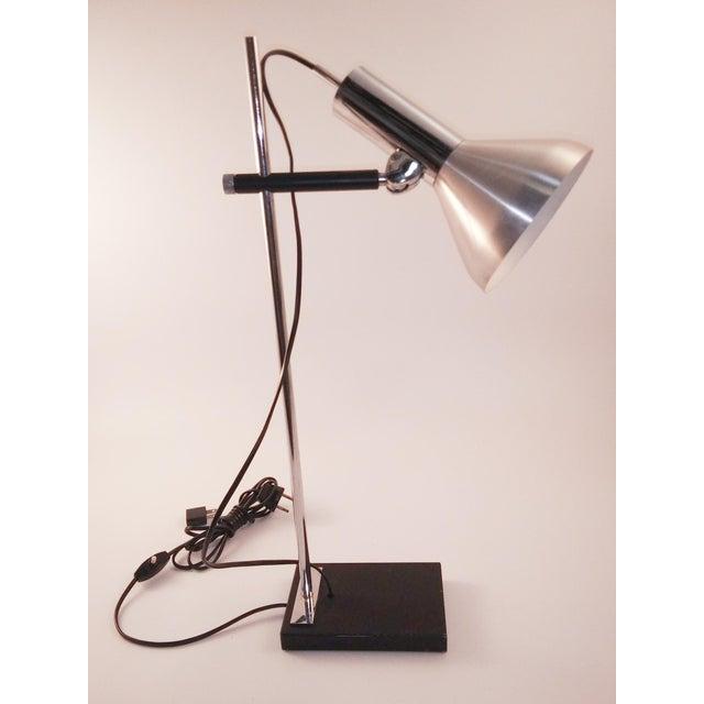 1960s European Chrome Desk Lamp For Sale - Image 9 of 9