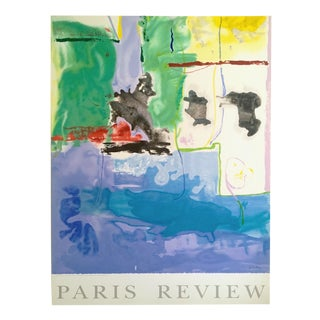 "Helen Frankenthaler Rare Lmt Edtn Hand Pulled Original Silkscreen Print "" West Wind "" 1996 For Sale"