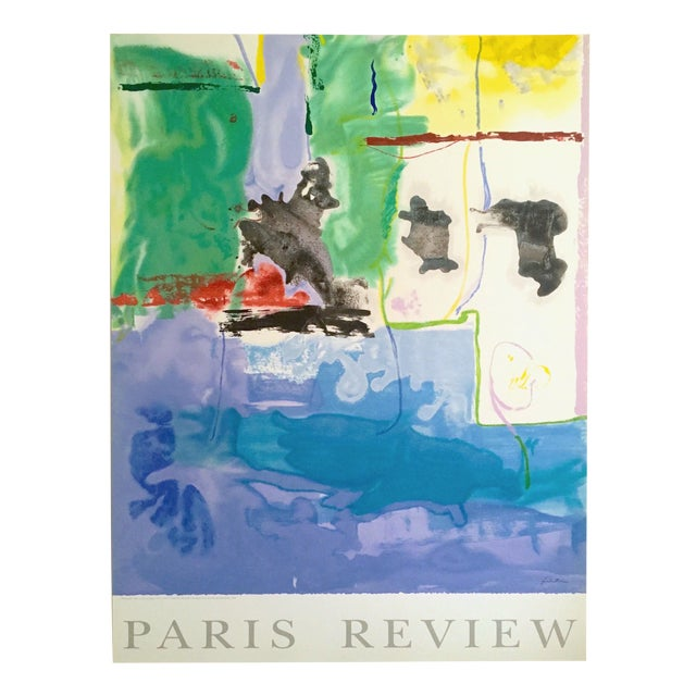 """Helen Frankenthaler Rare Ltd Edtn Hand Pulled Original Silkscreen Print """" West Wind """" 1996 For Sale"""