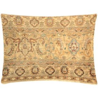 "Nalbandian - Persian Tabriz Rug Pillow - 17"" X 23"" For Sale"