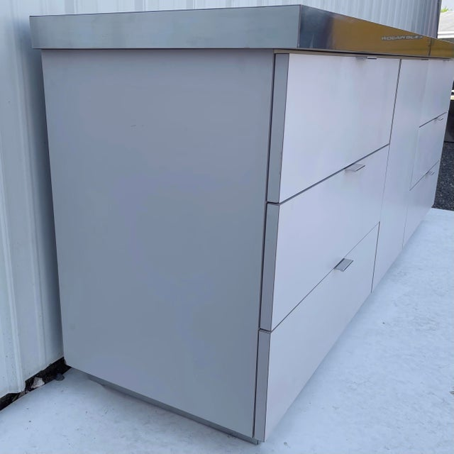 Early 21st Century Vintage Modern Bedroom Dresser- Retro 80s Style For Sale - Image 5 of 13