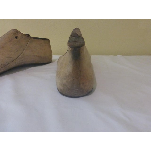 Vintage Shoe Molds - Pair - Image 5 of 7