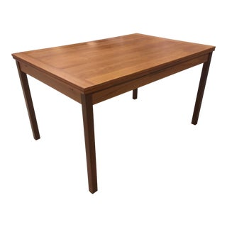 Teak Dining Table Mobler Danish Modern For Sale