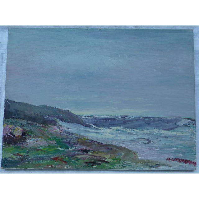 Abstract Beach Painting by H.L. Musgrave - Image 2 of 7