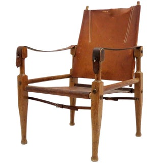1950 Wilhelm Kienzle Safari Chair
