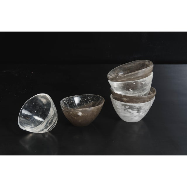 Ghen Bowl in Hand Carved Crystal by Robert Kuo, Limited Edition For Sale In Los Angeles - Image 6 of 7