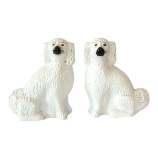1870s Staffordshire Dogs-a Pair For Sale