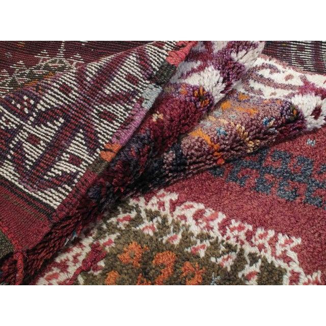 Gray Herki Long Rug For Sale - Image 8 of 8