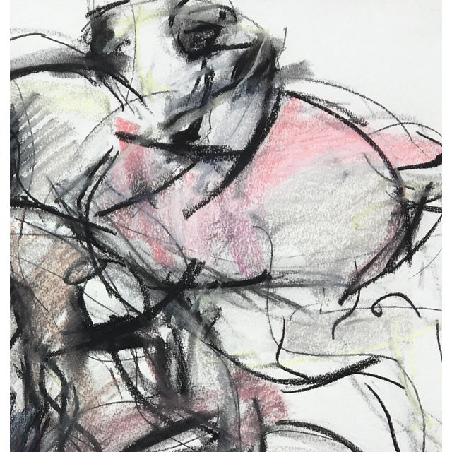 Abstract Polo Player #4 Abstract Drawing For Sale - Image 3 of 4