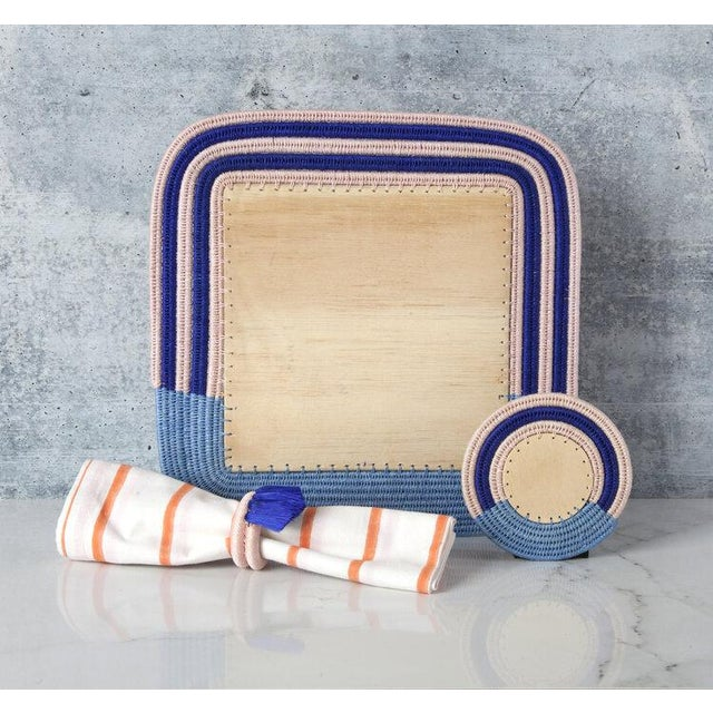 Don't wait for a special occasion to give your tablescape or bar area a quick pick-me-up! Charlie Sprout Stripe coasters...