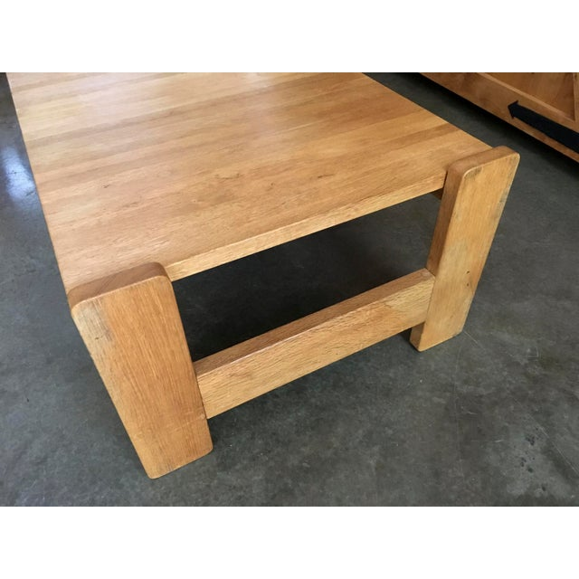 Danish Modern Wooden Coffee Table - Image 4 of 7