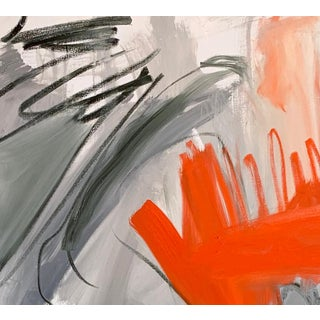 """""""Krakatoa 1"""" by Trixie Pitts Large Abstract Oil Painting Preview"""
