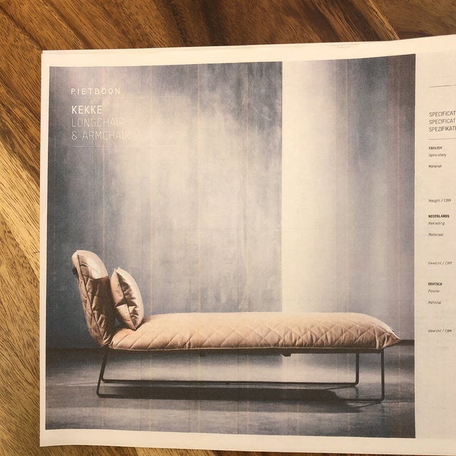 New Piet Boon Kekke Chaise For Sale - Image 9 of 10