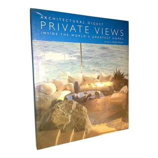 2007 Private Views : Inside the World's Greatest Homes Architectural Digest Book For Sale