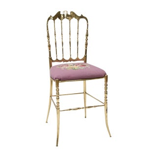 Italian Solid Brass Chiavari Chair