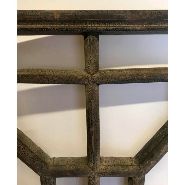 Asian Set of Four 19th Century Japanese Lattice Wooden Panels For Sale - Image 3 of 13