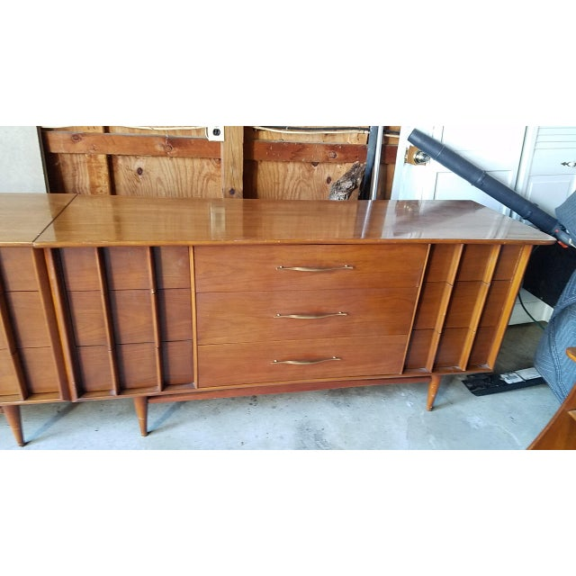 Danish Modern 20th Century Danish Modern Kent-Coffey Double Dresser For Sale - Image 3 of 7