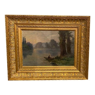 French Impressionist Oil Painting For Sale