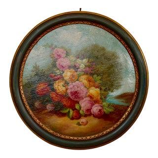"Contemporary Maffei Prof Alessandro ""Flowers"" Oil Painting"
