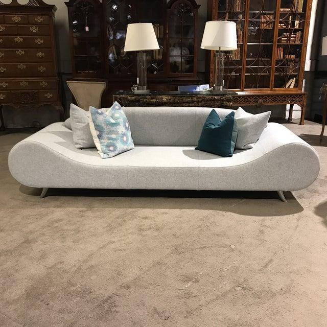 Light Gray Modern Concept Sofa - Image 5 of 6