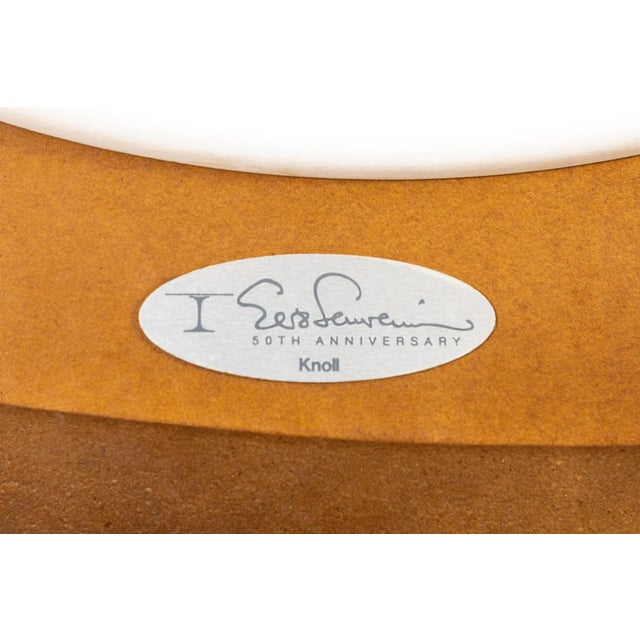 Brown Eero Saarinen for Knoll Rosewood Coffee Table 50th Anniversary Edition For Sale - Image 8 of 9