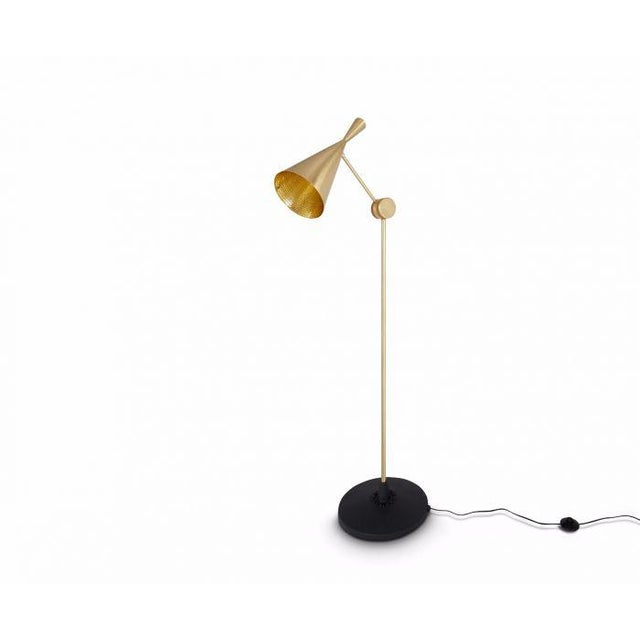 Tom Dixon Beat Floor Lamp Brass For Sale In Los Angeles - Image 6 of 6