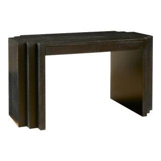 1970s Sculptural Cerused Oak Desk For Sale