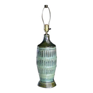 Art Pottery Table Lamp For Sale