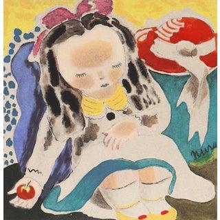 'Lazy Bones' by Nura Ulreich, 1943, Art Student's League, Salon D'Automne, Paris, Art Deco For Sale