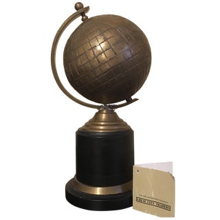 Bronze Finish Metal Globe