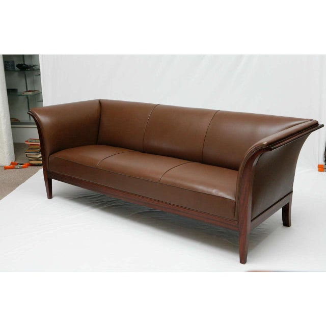 1940s Frits Henningsen Sofa For Sale - Image 5 of 10