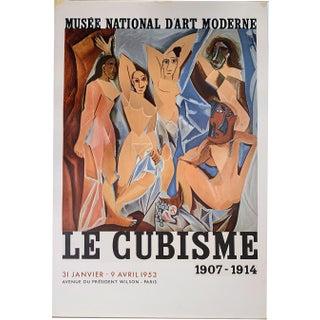 """Pablo Picasso """"Le Cubisme"""" 1907-1914, Musee National D'Art Moderne, Paris Poster For Sale"""