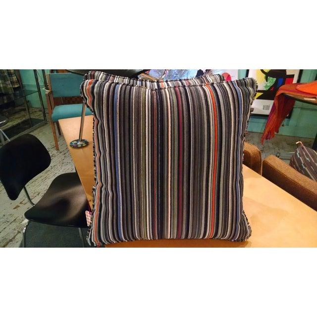 Maharam Paul Smith Epingle Stripe Pillows - A Pair - Image 3 of 6