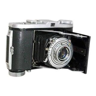 1950s German 35mm Folding Camera, Balda Baldinette, With Case For Sale
