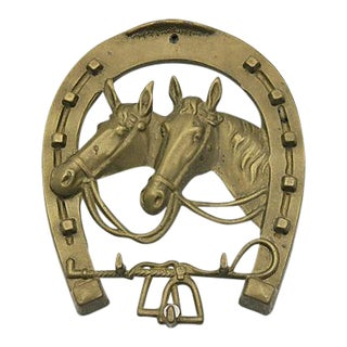 English Brass Wall Tack/Key Hook