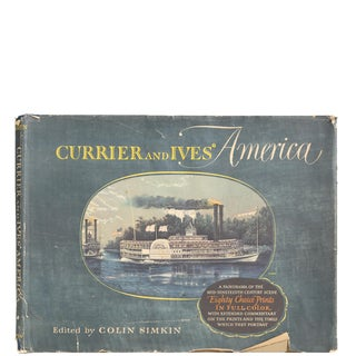 "1952 ""Currier and Ives' America"" Book"