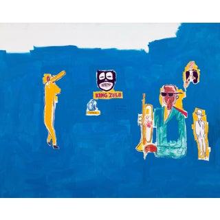 Jean-Michel Basquiat King Zulu Poster For Sale