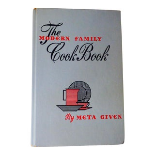 "Mid-Century Vintage ""The Modern Family"" Cookbook For Sale"