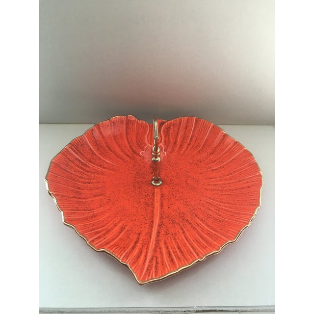 Ceramic Vintage Mid-Century Modern California Pottery Centerpiece Serving Tray For Sale - Image 7 of 7