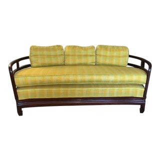 1960s Vintage Rosewood Custom Made Love Seat For Sale