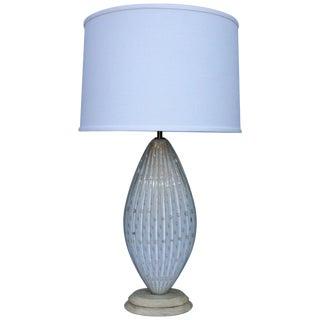 Camer Glass Italian Table Lamp For Sale