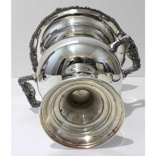 Vintage Sheridan Champagne Ic Bucket Silver Plate For Sale In West Palm - Image 6 of 12
