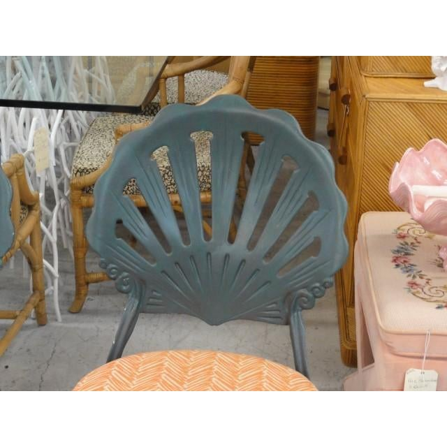 Vintage Shell Back Chairs - Set of 6 - Image 6 of 11