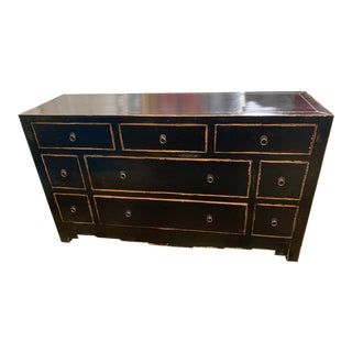 Vintage Asian Chest of Drawers For Sale