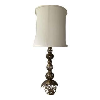 Vintage Brass Floor Lamp For Sale