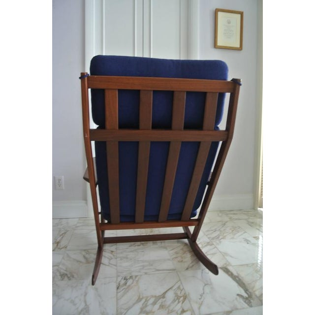 Rocking Chair by Poul Volther For Sale In New York - Image 6 of 9