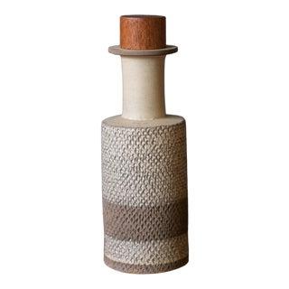 Bitossi Italian Mid Century Stoneware Vase For Sale
