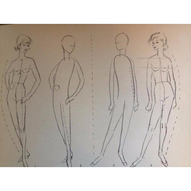 Vintage Fashion Drawing Instruction Book Chairish