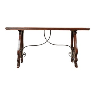 Mid 17th Century Italian Side Table From Tuscany For Sale
